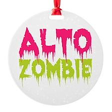 Choir Alto Zombie Ornament