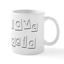 I Love Rocio Small Mug