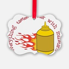 Better With Mustard Ornament