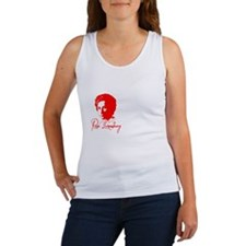 Rosa Luxemburg with Quote Women's Tank Top