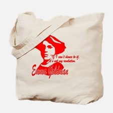 Emma Goldman With Quote Tote Bag