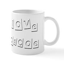 I Love Roscoe Mug