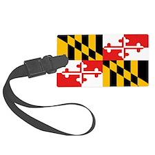Maryland State Flag Luggage Tag