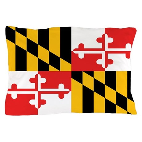 Maryland State Flag Pillow Case