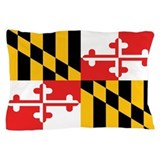Maryland state flag Pillow Cases