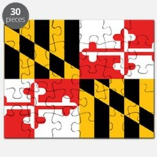 Maryland State Flag Puzzle