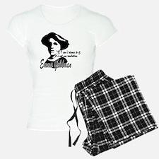 Emma Goldman with Quote Pajamas