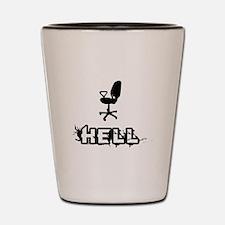 Hell: Office Shot Glass