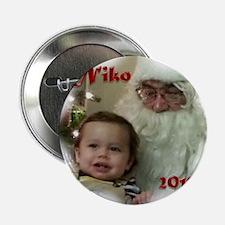 """Niko Ornament 02 2.25"""" Button"""