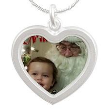 Niko Ornament 02 Silver Heart Necklace