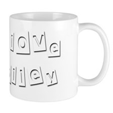 I Love Holley Small Mug