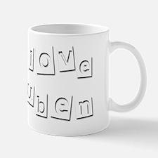 I Love Ruben Mug