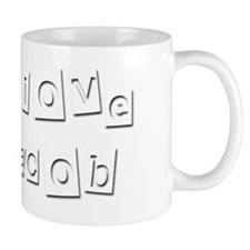 I Love Jacob Mug