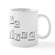 I Love Jacquelyne Mug