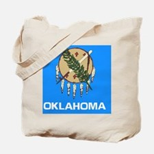 Oklahoma State Flag Tote Bag