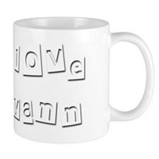 I Love Ryann Mug