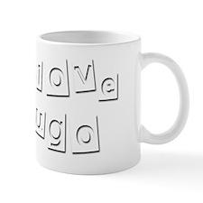 I Love Hugo Small Mug