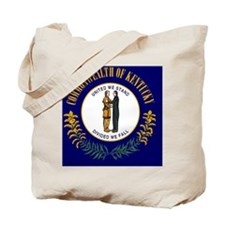 Kentucky State Flag Tote Bag