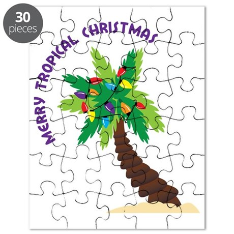 Merry Tropical Christmas Puzzle
