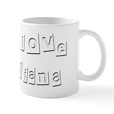 I Love Iliana Mug