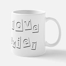 I Love Javier Mug