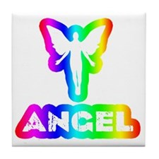 Disco Angel Tile Coaster