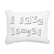 I Love Ismael Rectangular Canvas Pillow