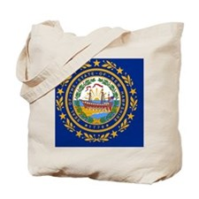 New Hampshire State Flag Tote Bag