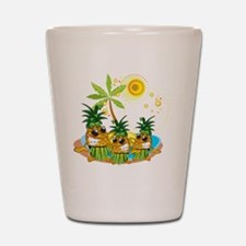 Sunglass Pineapple Trio Shot Glass