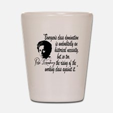 Rosa Luxemburg With Quote Shot Glass