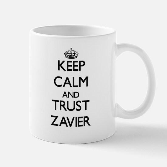 Keep Calm and TRUST Zavier Mugs