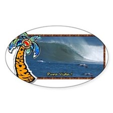 Costa Rica Surf Travel Wave - from  Decal