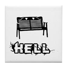 Hell: Romance Tile Coaster