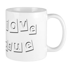 I Love Josue Small Mug