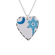 Christmas Palmetto Snowflake Necklace