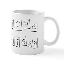 I Love Julissa Mug