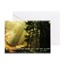 Thy word is a light Greeting Card
