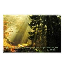 Thy word is a light Postcards (Package of 8)