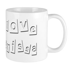 I Love Karissa Mug