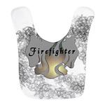 Firefighter Flame Tattoo Bib