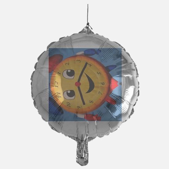 (12p) Balloons Shape Clock  6268 Balloon