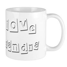 I Love Kasandra Mug