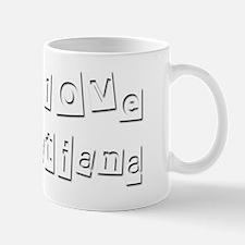 I Love Tatiana Mug