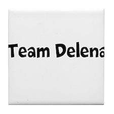 Team Delena Tile Coaster