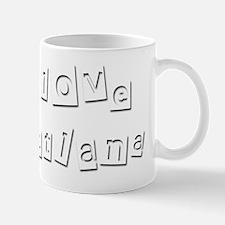 I Love Svetlana Mug
