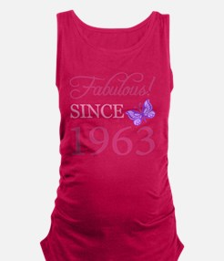 Fabulous Since 1963 Maternity Tank Top
