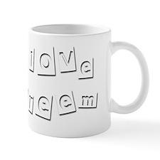 I Love Kareem Mug