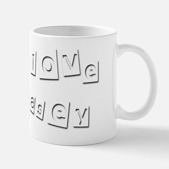 I Love Kasey Mug