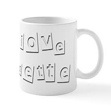 I Love Josette Mug