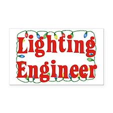 Lighting engineer Rectangle Car Magnet